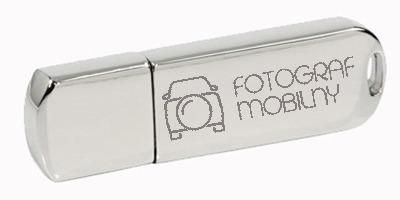Pakiet 10 sztuk pendrivów metalowych z grawerem 16 GB USB 3.0