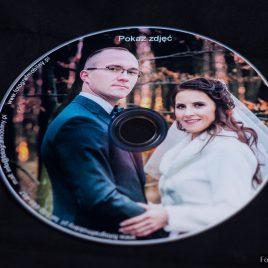 """Płyta DVD z dowolnym nadrukiem """"błyszcząca wodoodporna"""""""
