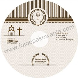 """Płyta DVD z nadrukiem """"matowa"""" wzór 44"""