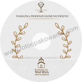 """Płyta DVD z nadrukiem """"matowa"""" wzór 47"""