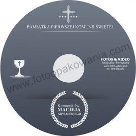 """Płyta DVD z nadrukiem """"matowa"""" wzór 48"""