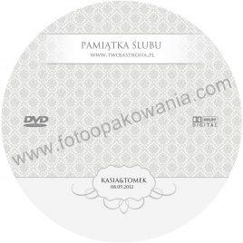 """Płyta DVD z nadrukiem """"matowa"""" wzór 70"""
