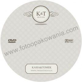 """Płyta DVD z nadrukiem """"matowa"""" wzór 71"""