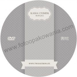 """Płyta DVD z nadrukiem """"matowa"""" wzór 72"""
