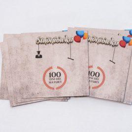 "Koperta kartonowa na CD/DVD z nadrukiem Full Color ""Studniówka"""