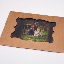 Folder/Koperta na zdjęcia 15×21/15×23 z okienkiem  – KRAFT/EKO